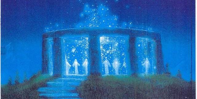 Artistic concept of Atlantis