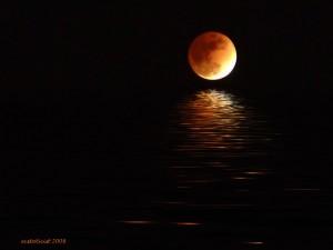 luna plina rosie